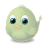 96x96px size png icon of Adium Bird Invisible
