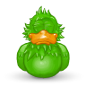 96x96px size png icon of Adium Asleep