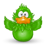 96x96px size png icon of Adium Flap