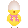 96x96px size png icon of chicken egg shell top