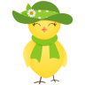 96x96px size png icon of sun hat