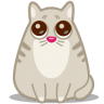 96x96px size png icon of cat eyes