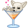 96x96px size png icon of dog cocktail alkohol