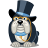 96x96px size png icon of dog rich