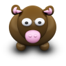 96x96px size png icon of BrownCow