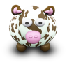 96x96px size png icon of CowBrownSpots