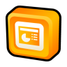 96x96px size png icon of Microsoft Office PowerPoint