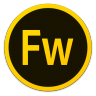 96x96px size png icon of Adobe Fw