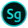 96x96px size png icon of Adobe Sg