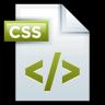 96x96px size png icon of File Adobe Dreamweaver CSS 01