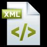 96x96px size png icon of File Adobe Dreamweaver XML 01