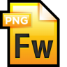 96x96px size png icon of File Adobe Fireworks 01