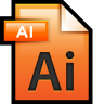 96x96px size png icon of File Adobe Illustrator 01