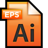 96x96px size png icon of File Adobe Illustrator EPS 01