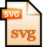 96x96px size png icon of File Adobe Illustrator SVG 01