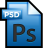 96x96px size png icon of File Adobe Photoshop 01