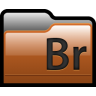 96x96px size png icon of Folder Adobe Bridge 01