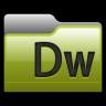 96x96px size png icon of Folder Adobe Dreamweaver 01