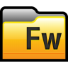 96x96px size png icon of Folder Adobe Fireworks 01