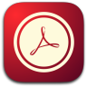 96x96px size png icon of Acrobat