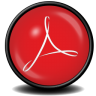96x96px size png icon of Acrobat Reader 8