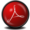 96x96px size png icon of Acrobat Reader 9