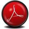 96x96px size png icon of Acrobat Reader X