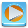 96x96px size png icon of media Player