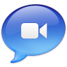 96x96px size png icon of iChat Video