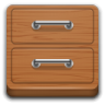 96x96px size png icon of Apps system file manager