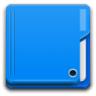 96x96px size png icon of Places folder blue