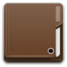 96x96px size png icon of Places folder brown