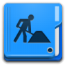 96x96px size png icon of Places folder development