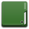 96x96px size png icon of Places folder green