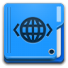 96x96px size png icon of Places folder html