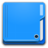 96x96px size png icon of Places folder
