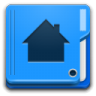 96x96px size png icon of Places user home