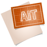 96x96px size png icon of adobe blueprint ait
