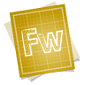 96x96px size png icon of adobe blueprint fireworks