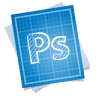 96x96px size png icon of adobe blueprint photoshop