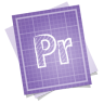 96x96px size png icon of adobe blueprint premiere