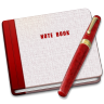 96x96px size png icon of Closed Note Alt