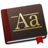 96x96px size png icon of Font Book Alt