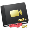 96x96px size png icon of Movie Book Alt