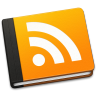 96x96px size png icon of RSS Book