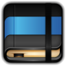 96x96px size png icon of Moleskine Blue Book