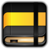 96x96px size png icon of Moleskine Yellow Book