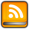 96x96px size png icon of RSS Reader Book