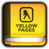 96x96px size png icon of Yellow Pages Book