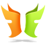 96x96px size png icon of Flylink DC plus plus